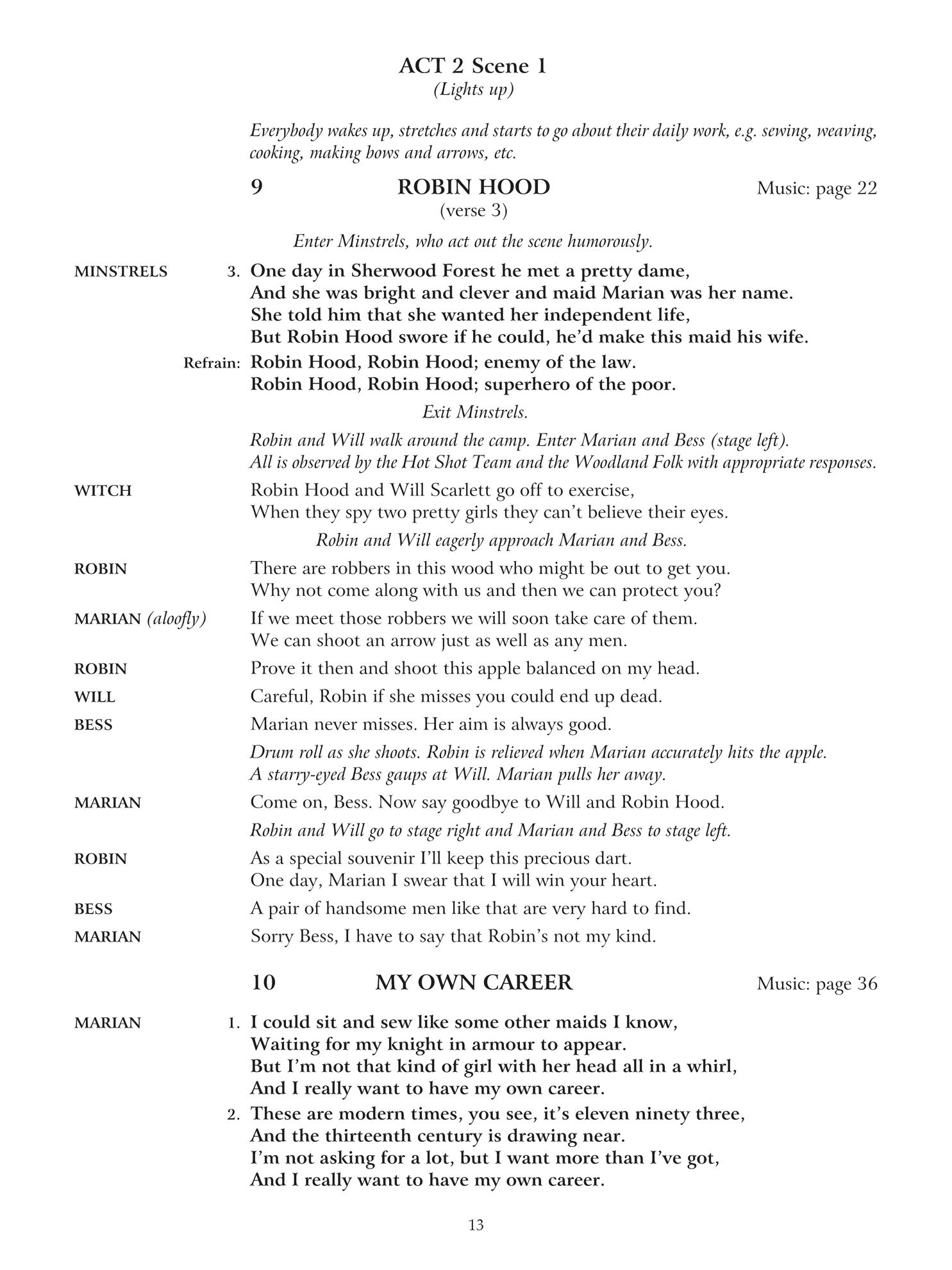Robin Hood & Friends_Script_Sample