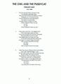 The Owl & the Pussycat_Script_Sample
