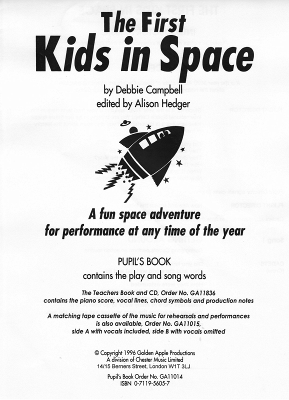 Picture of The First Kids in Space Scripts Pack