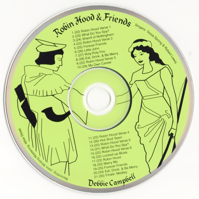 Picture of Robin Hood and Friends CD Pack