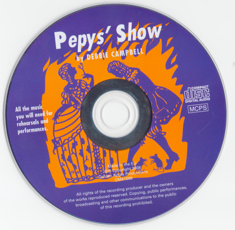 Picture of Pepys' Show CD Pack