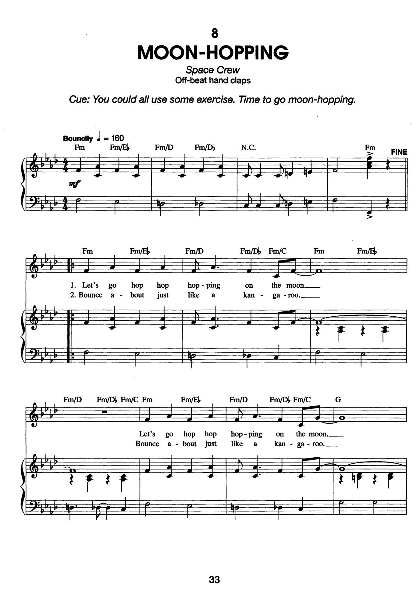 Score Sample - Moon Hopping