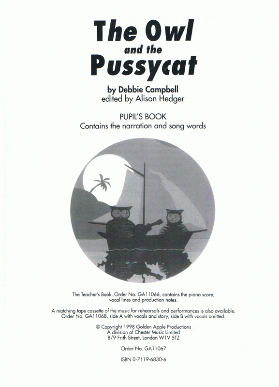 Picture of The Owl and the Pussycat Scripts Pack
