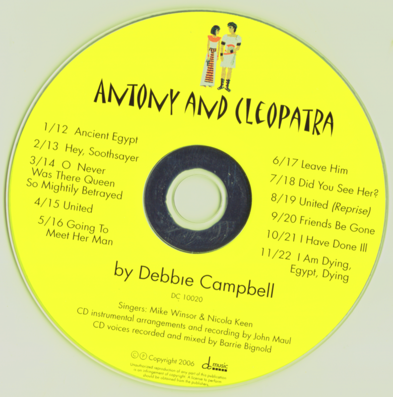 Picture of Antony & Cleopatra CD Pack