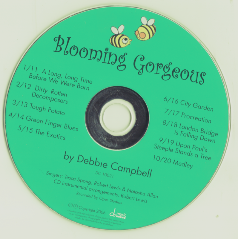 Blooming Gorgeous CDs (5)