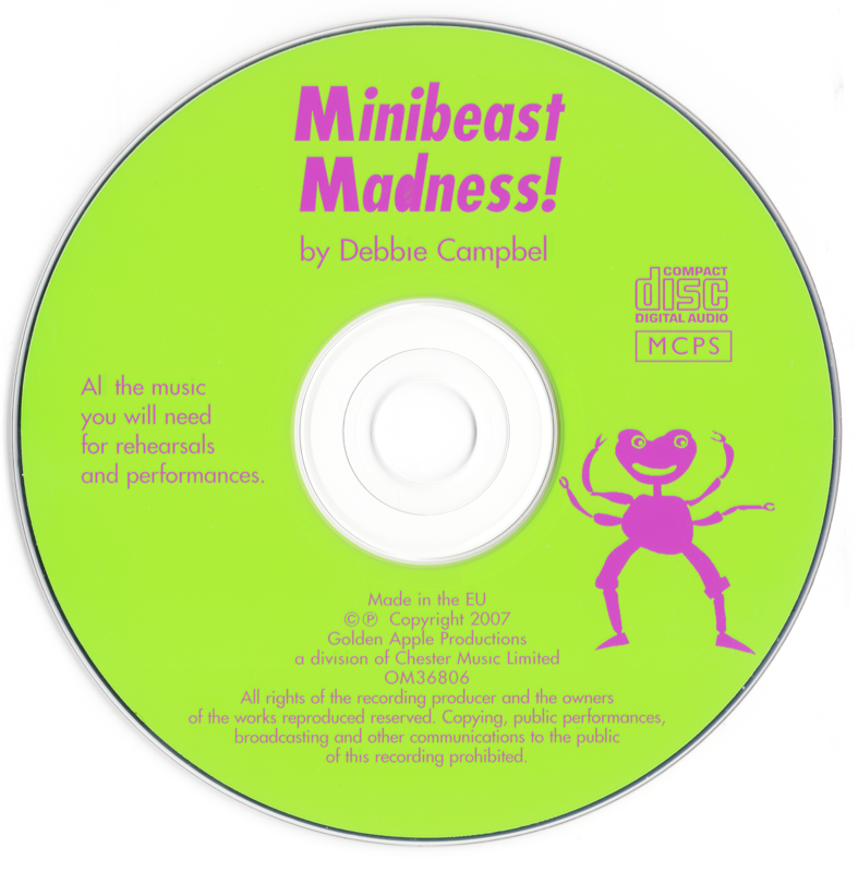 Picture of Minibeast Madness CD Pack