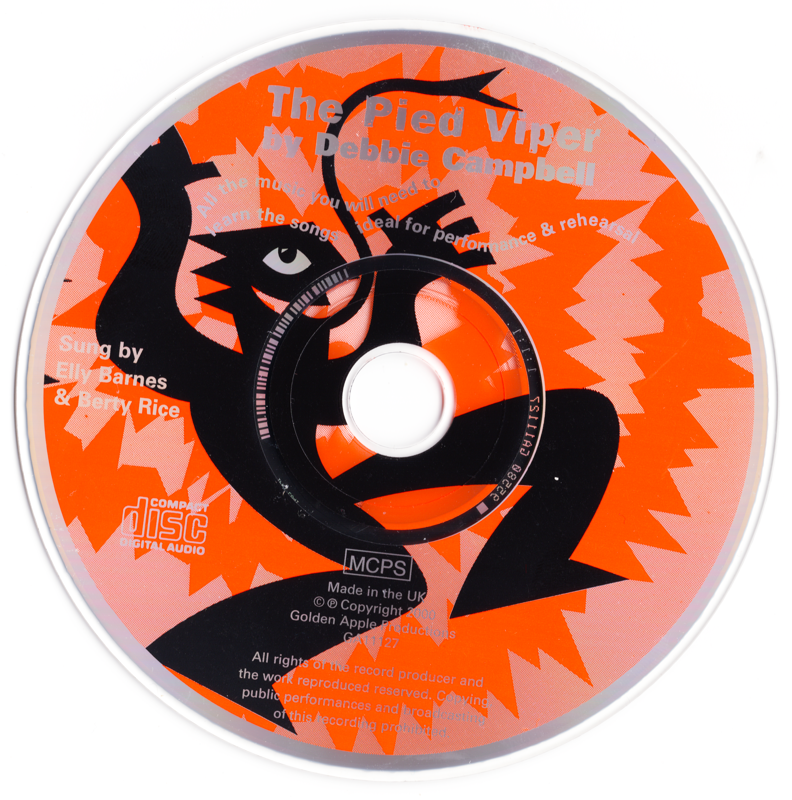 Picture of The Pied Viper CD Pack