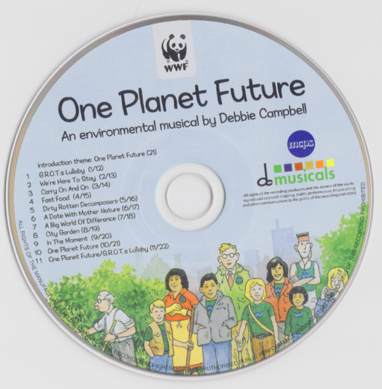 Picture of One Planet Future CD Pack